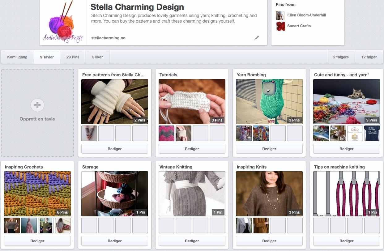 Stella Charming Design på Pinterest