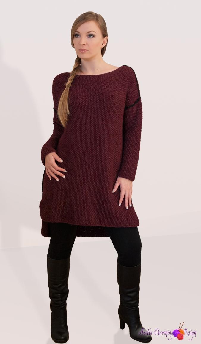 Genseren Huslia / The Huslia sweater.