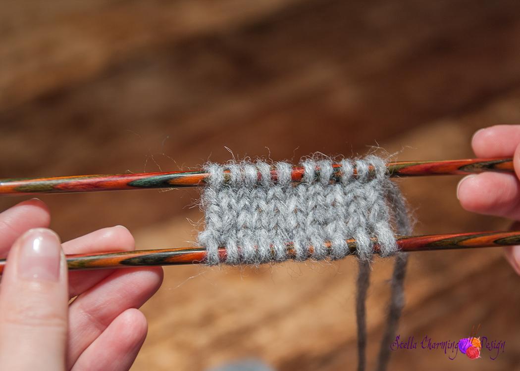 Nå kan du strikke i begge retninger.