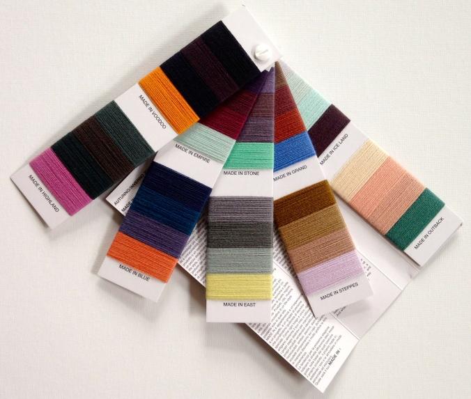 inspirational colour chart